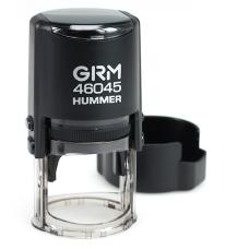 GRM 46045 HUMMER Оснастка для печати с защитной крышкой D 45мм, корпус ЧЕРНЫЙ матовый