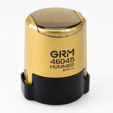 GRM 46045 Hummer Delux оснастка для печати в боксе D45 мм золотой корпус