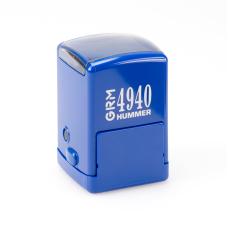 GRM 4940 Hummer оснастка для печатей и штампов квадратная 40x40 мм синяя