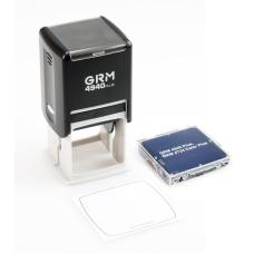 GRM 4940 PLUS оснастка для печатей и штампов квадратная 42x42 мм черная