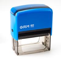 GRM 60 Office. Автоматическая оснастка для штампа 76x37 мм, корпус СИНИЙ.