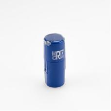GRM R17 office Печать пластиковая с защитным боксом д. 17мм СИНЕ/ЧЕРНЫЙ корпус