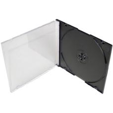 Коробка CD Slim Box 5 мм для 1 диска цвет черный