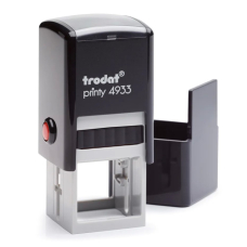 Trodat 4933 P2 printy автоматическая оснастка для штампа 25x25 мм (черная)