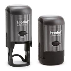 Trodat 46025 Printy автоматическая оснастка для круглой печати D25 мм ЧЕРНАЯ