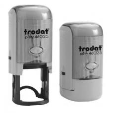 Trodat 46025 Printy автоматическая оснастка для круглой печати D25 мм СЕРАЯ