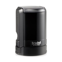 Trodat 4642 NEW автоматическая оснастка для печати d42 мм с защитной крышкой (черная).