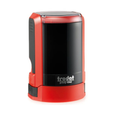 Trodat 4642 NEW автоматическая оснастка для печати d42 мм с защитной крышкой (красная).